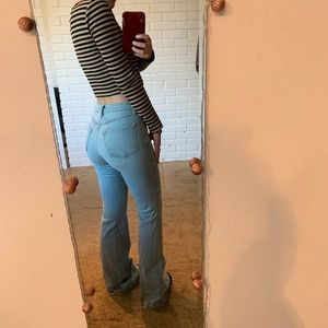 J Brand Jeans High Rise Flares